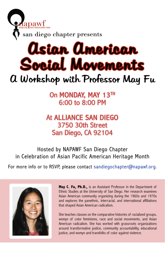 AASM May Fu Flyer