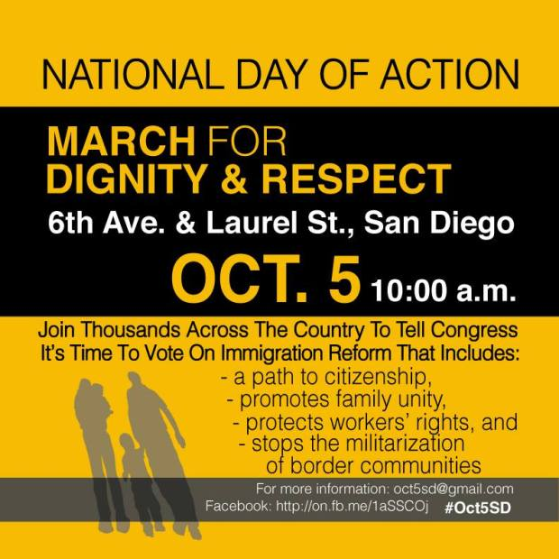 National Day of Action: March for Dignity & Respect