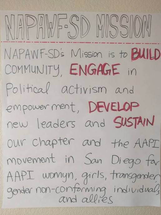 NAPAWF Mission Statement