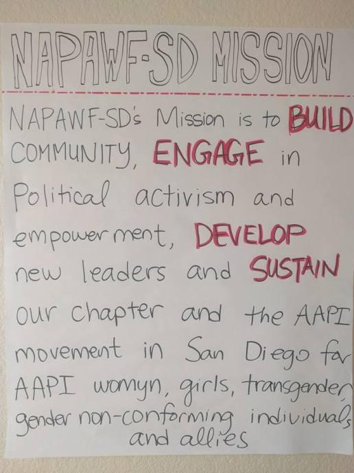 NAPAWF Mission Statement